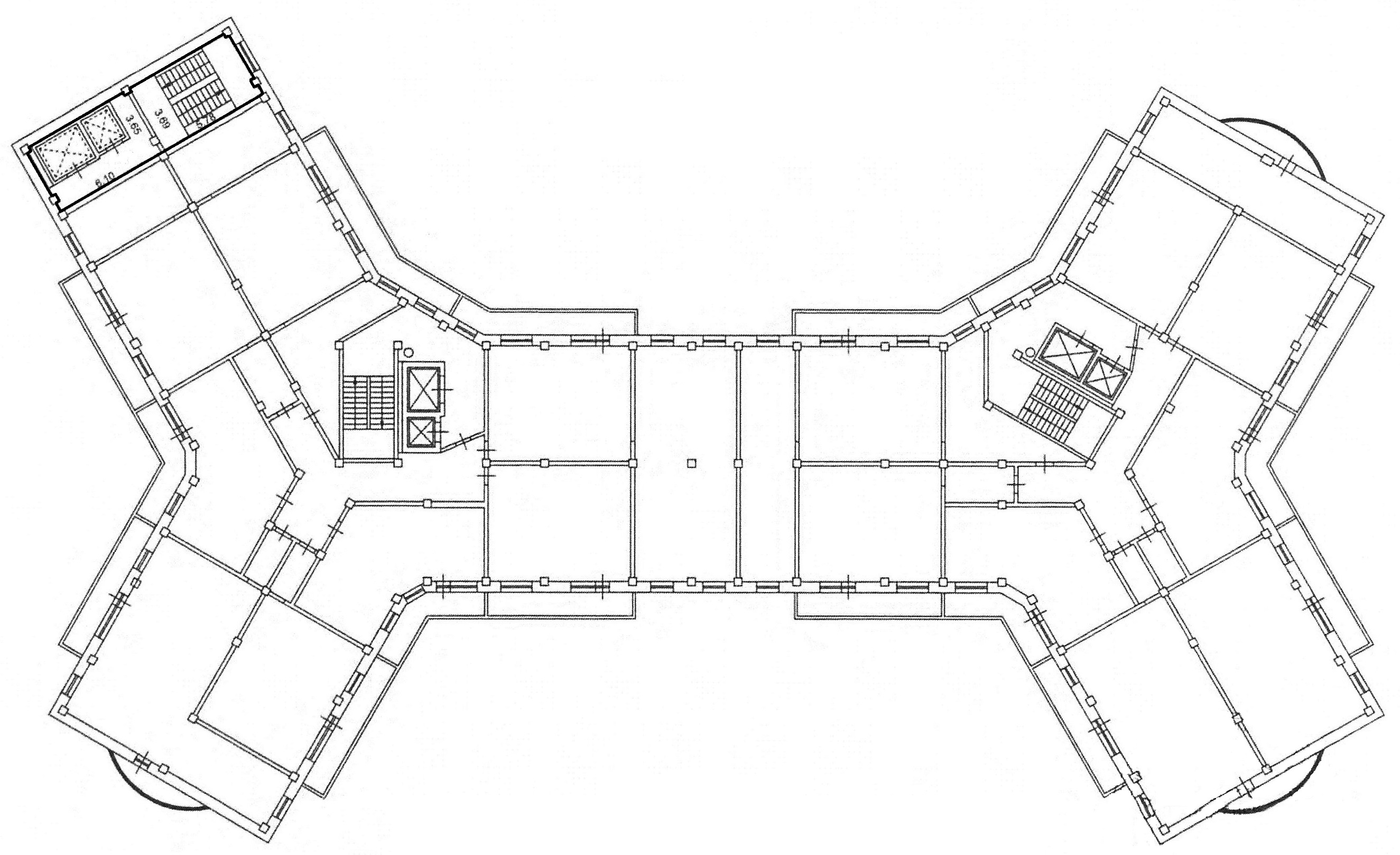Коммерция Сургут Гагарина 12 этаж 2