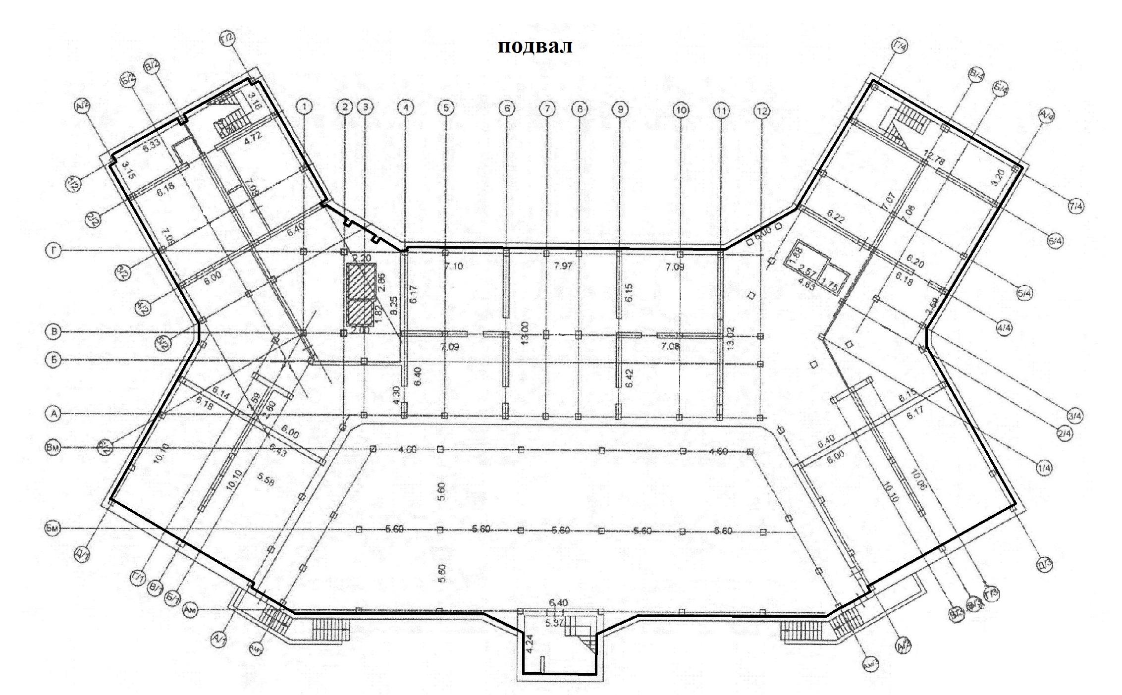 Коммерция Сургут Гагарина 12 этаж -1