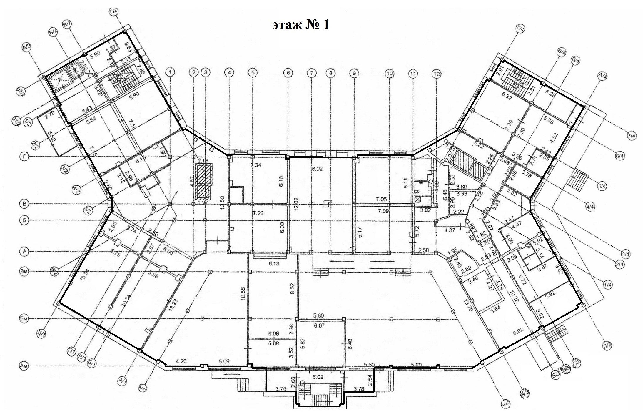 Коммерция Сургут Гагарина 12 этаж 1